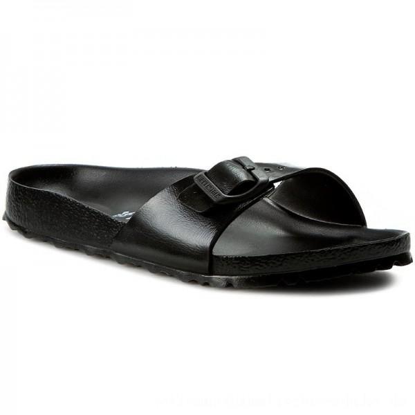 [BLACK FRIDAY] Birkenstock Pantoletten Madrit 0128163 Black