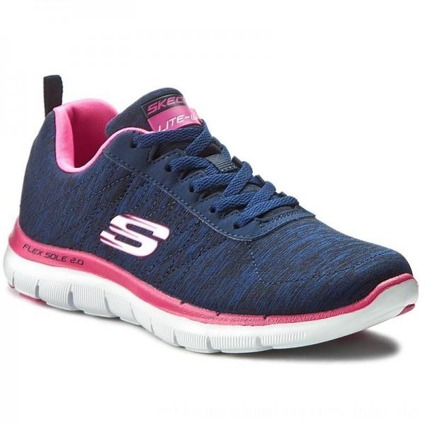 Skechers Schuhe Flex Appeal 2.0 12753/NVPK Navy/Pink [Outlet]