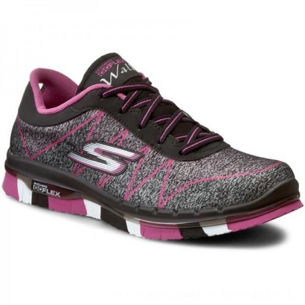 Skechers Schuhe Ability 81082L/BKHP Black/Hot Pink [Outlet]