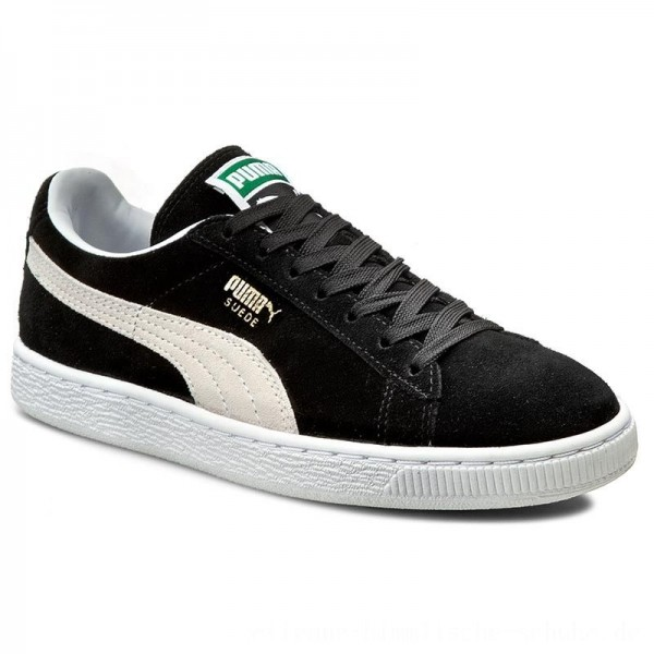 Puma Sneakers Suede Classic+ 352634 03 Black/White [Outlet]