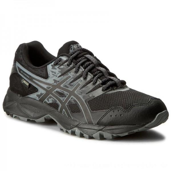 Asics Schuhe Gel-Sonoma 3 G-Tx GORE-TEX T727N Black/Onyx/Carbon 9099 [Outlet]