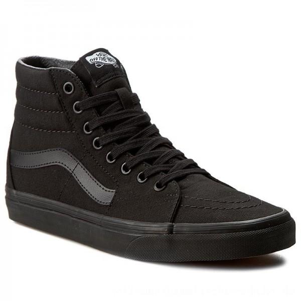 Vans Sneakers Sk8-Hi VN000TS9BJ4 Black/Black/Black [Outlet]