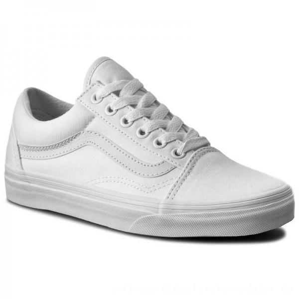 Vans Turnschuhe Old Skool VN000D3HW00 True White