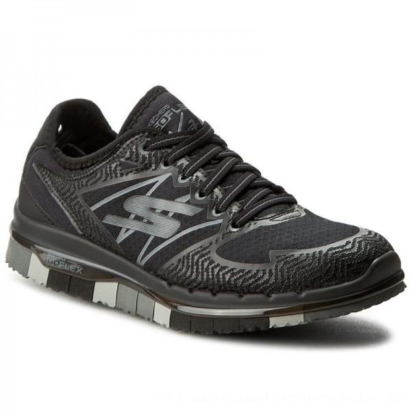 Skechers Schuhe Momentum 14017/BKGY Black/Gray [Outlet]