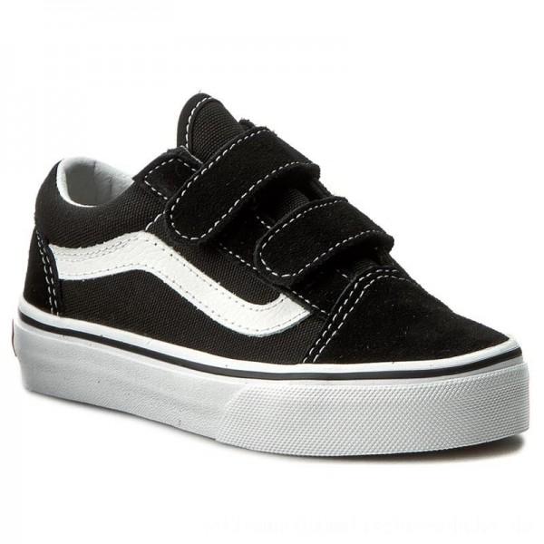 Vans Halbschuhe Old Skool V VN000VHE6BT Black/True White [Outlet]