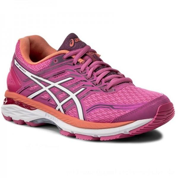 Asics Schuhe GT-2000 5 T757N Pink Glow/White/Dark Purple 2001 [Outlet]