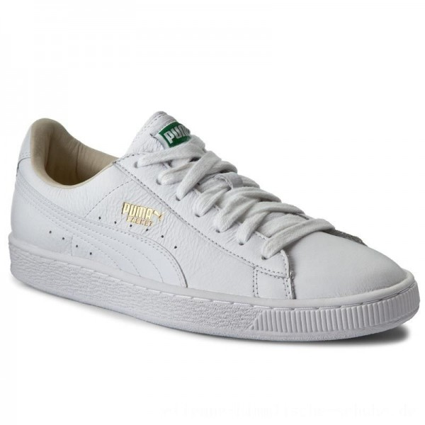 Puma Sneakers Basket Classic Lfs 354367 17 White/White [Outlet]