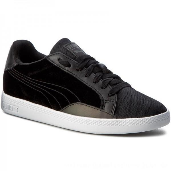 Puma Sneakers Match Swan Wn's 363175 01 Black/Puma Black [Outlet]