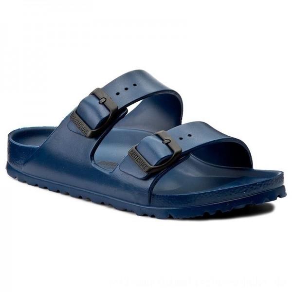 Birkenstock Pantoletten Arizona 0129433 Navy [Sale]