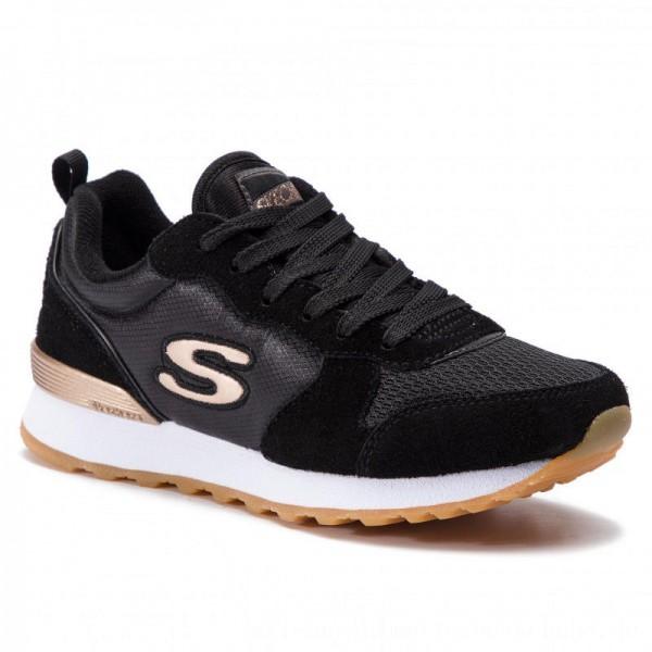 Skechers Sneakers Goldn Gurl 111/BLK Black [Outlet]