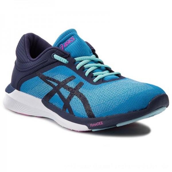 Asics Schuhe FuzeX Rush T768N Diva/Indigo Blue/White 4349