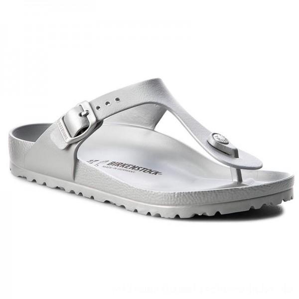 Birkenstock Zehentrenner Gizeh 1003496 Silver [Sale]