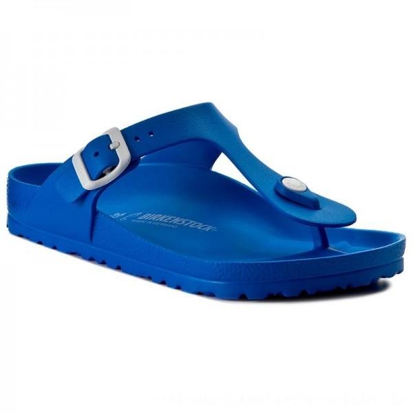 Birkenstock Zehentrenner Gizeh 1003519 Scuba Blue [Sale]