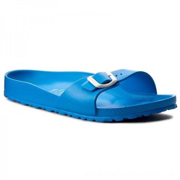 Birkenstock Pantoletten Madrid 1003513 Scuba Blue [Outlet]