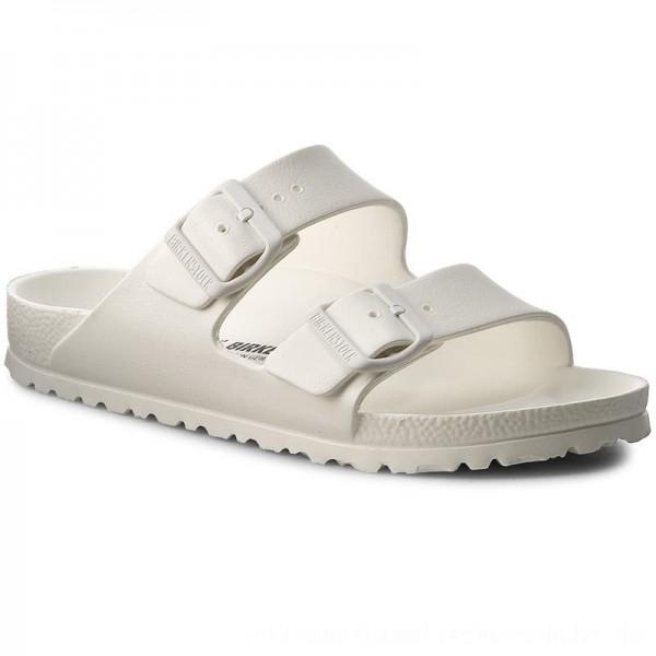 Birkenstock Pantoletten Arizona 0129443 White [Outlet]