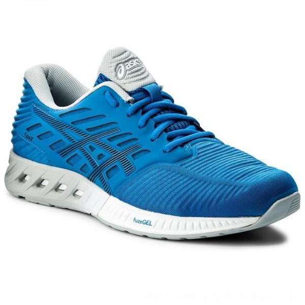 Asics Schuhe FuzeX T639N Directoire Blue/Peacoat Mid Grey 4358