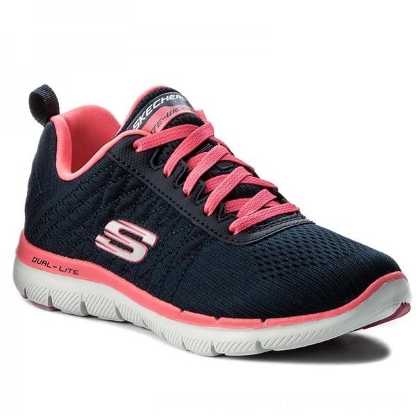 Skechers Schuhe Break Free 12757/NVHP Navy/Hot Pink