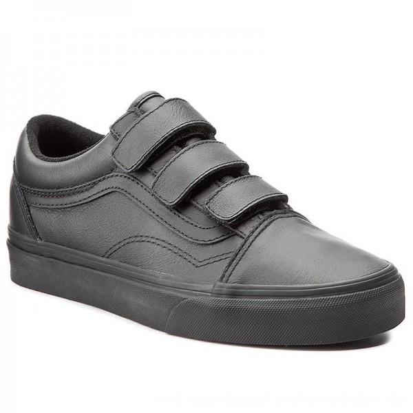 Vans Halbschuhe Old Skool V VA3D29OOZ (Mono Leather) Black