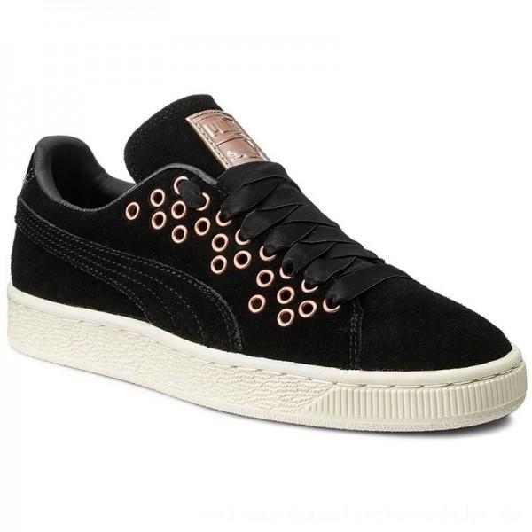 Puma Sneakers Suede Xl Lace Vr Wn's 364107 01 Black/Puma Black [Outlet]