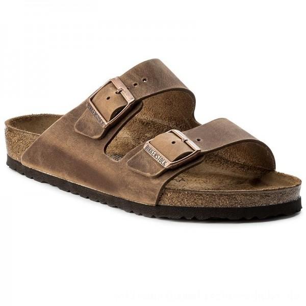 Birkenstock Pantoletten Arizona 0352201 Tabacco Brown [Outlet]