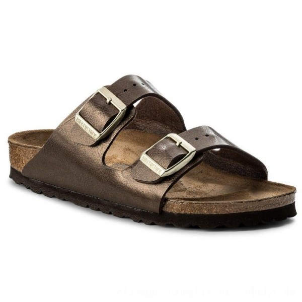 Birkenstock Pantoletten Arizona Bs 1009919 Graceful Toffe [Outlet]