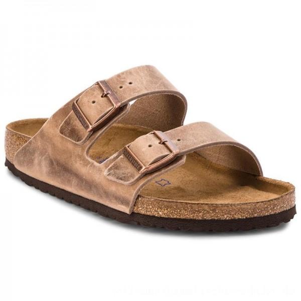 Birkenstock Pantoletten Arizona Bs 0552811 Tabacco Brown [Outlet]