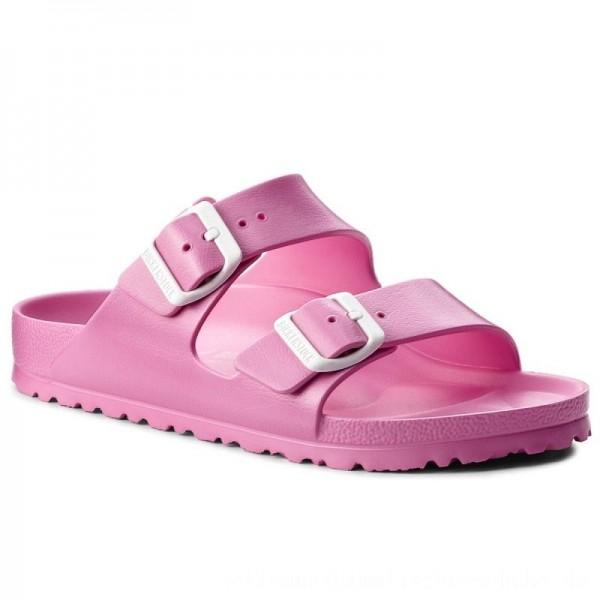 Birkenstock Pantoletten Arizona 0129533 Neon Pink [Outlet]
