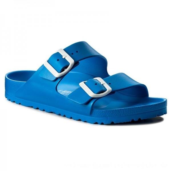 Birkenstock Pantoletten Arizona 1003505 Scuba Blue [Outlet]