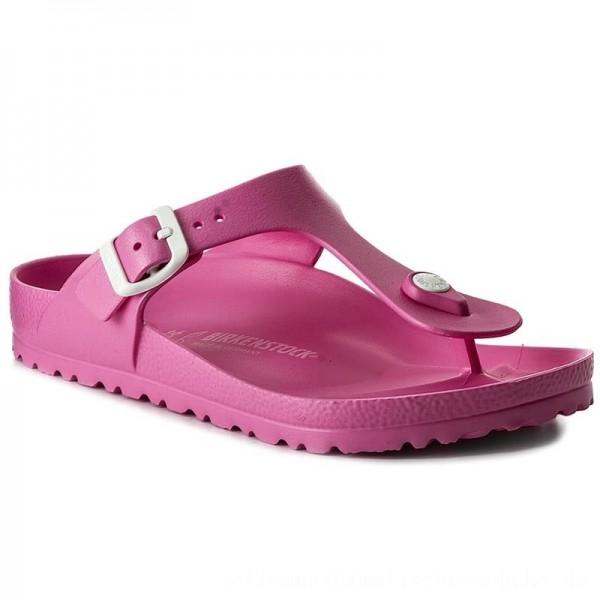 Birkenstock Zehentrenner Gizeh 0128341 Neon Pink [Outlet]
