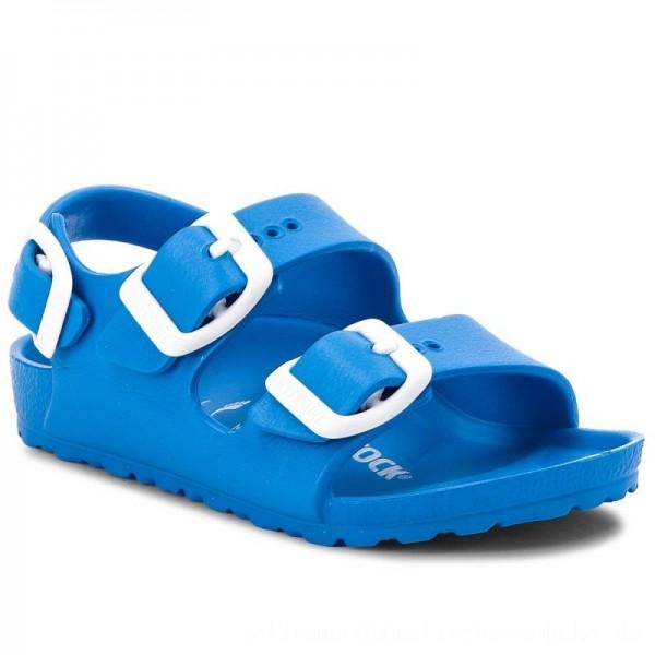 Birkenstock Sandalen Milano 1009355 Scuba Blue [Outlet]
