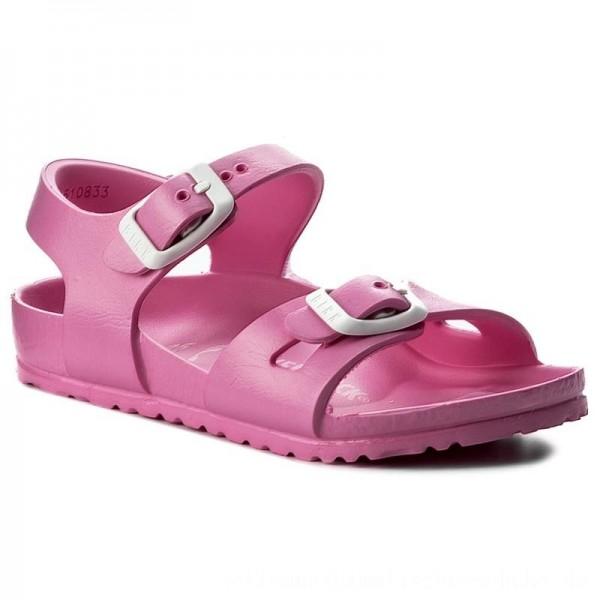 Birkenstock Sandalen Rio 0126163 Neon Pink [Sale]