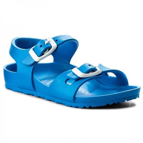 Birkenstock Sandalen Rio 1003535 Scuba Blue [Outlet]