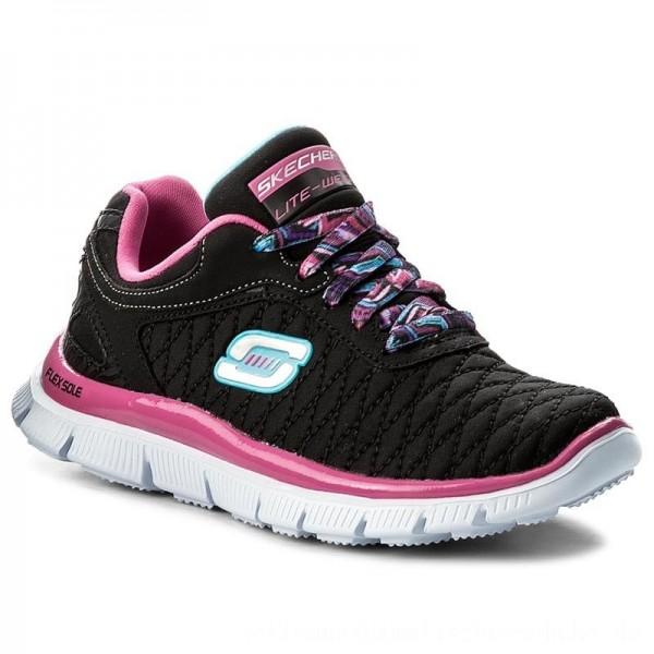 Skechers Sneakers Eye Catcher 81844L/BKHP Black/Hot Pink [Outlet]
