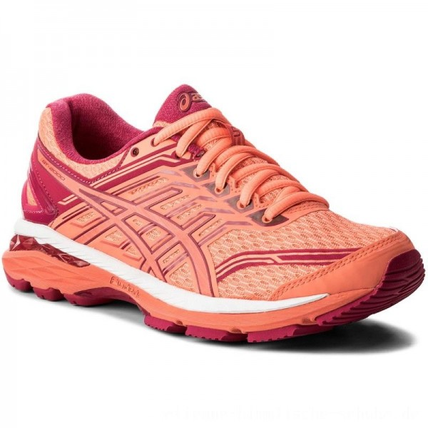 Asics Schuhe GT-2000 5 Flash Coral/Coral Pink/Bright Rose 0630 [Outlet]