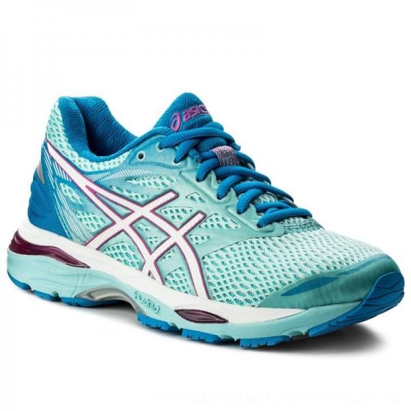 Asics Schuhe Gel-Cumulus 18 (2A) T6D6N Aqua Splash/White/Pink Glow 6701 [Sale]