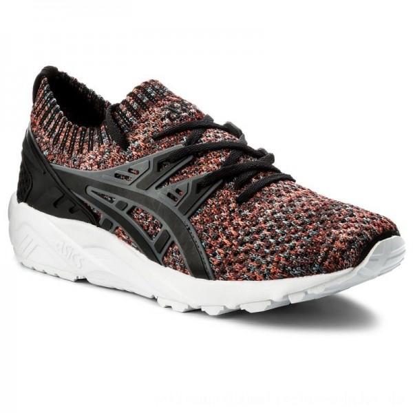 Asics Sneakers TIGER Gel-Kayano Trainer Knit HN7M4 Carbon/Black 9790 [Outlet]