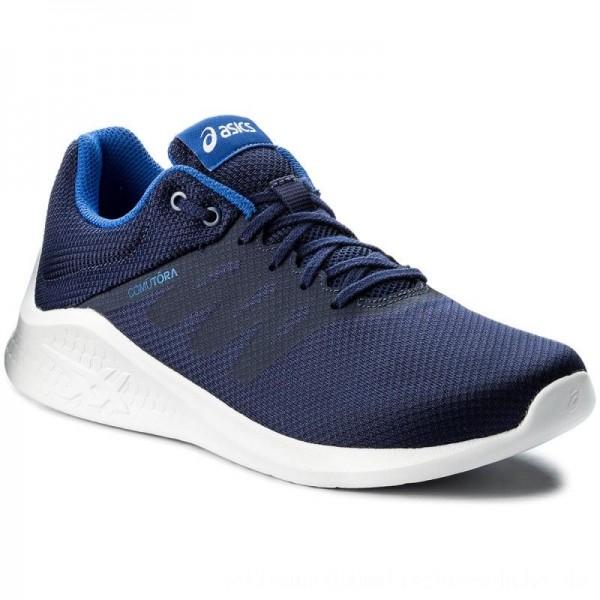 Asics Schuhe Comutora T831N Indigo Blue/Indigo Blue/Imperial 4949 [Outlet]