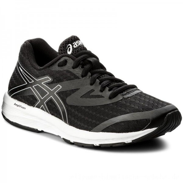 Asics Schuhe Amplica T875N Black/White 9090 [Sale]