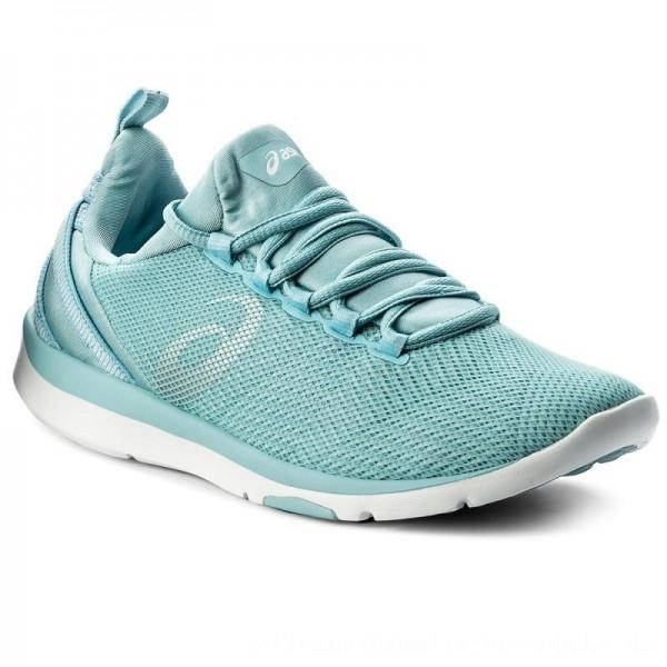 Asics Schuhe Gel-Fit Sana 3 S751N Porcelain Blue/Silver/White 1493