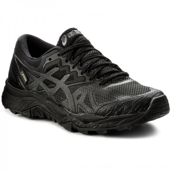 Asics Schuhe Gel-FujiTrabuco 6 G-TX GORE-TEX T7F5N Black/Black/Phantom 9090 [Outlet]