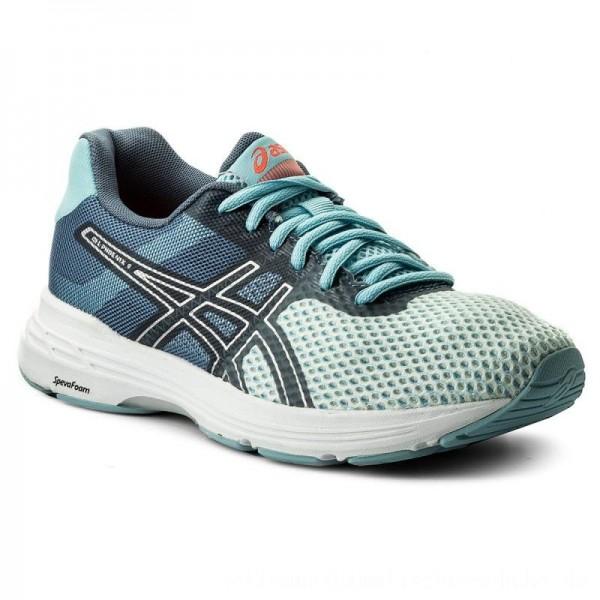 Asics Schuhe Gel Phoenix 9 T872N Porcelain Blue/Silver/Flash Coral 1493 [Outlet]