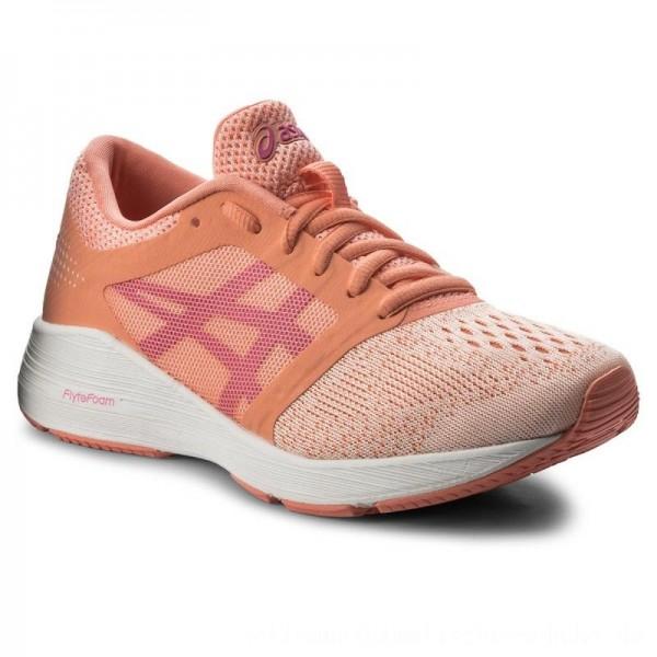 Asics Schuhe RoadHawk Ff Gs C743N Begonia Pink/Pink Glo/White 0620 [Sale]