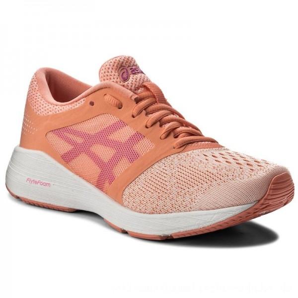 Asics Schuhe RoadHawk FF T7D7N Begonia Pink/Pink Glo/White 0620 [Sale]
