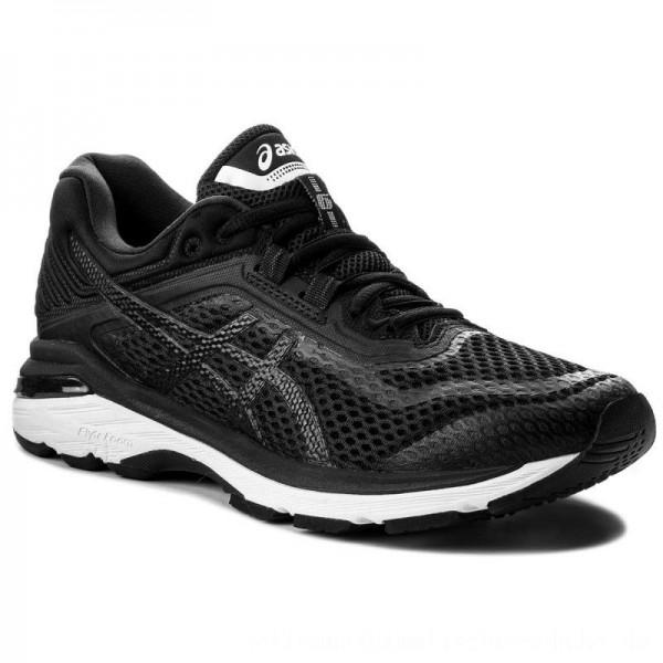 Asics Schuhe GT-2000 6 T805N Black/White/Carbon 9001 [Sale]