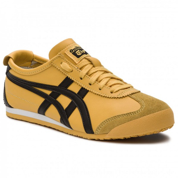 Asics Sneakers ONITSUKA TIGER Mexico 66 DL408 Yellow/Black 0490 [Outlet]