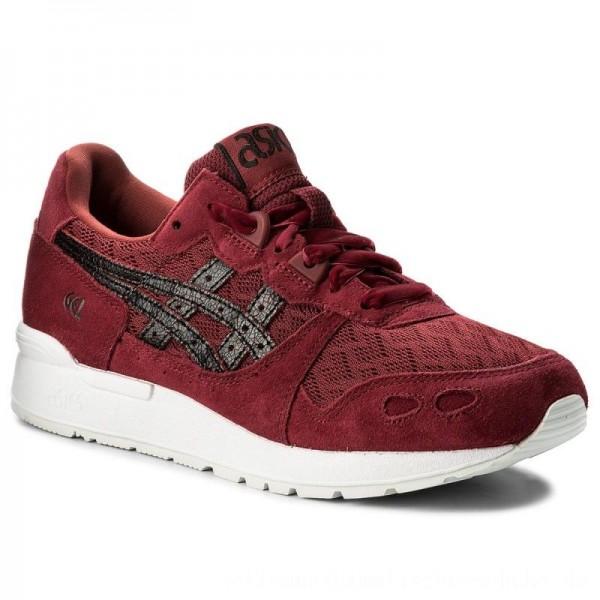 Asics Sneakers TIGER Gel-Lyte H8D5L Burgundy/Black 2690 [Outlet]