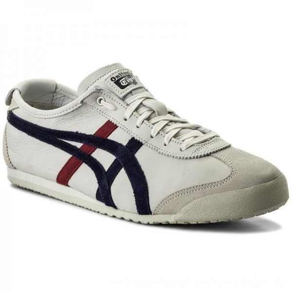 Asics Sneakers ONITSUKA TIGER Mexico 66 D832L Vaporous Grey/Peacoat 9058 [Outlet]
