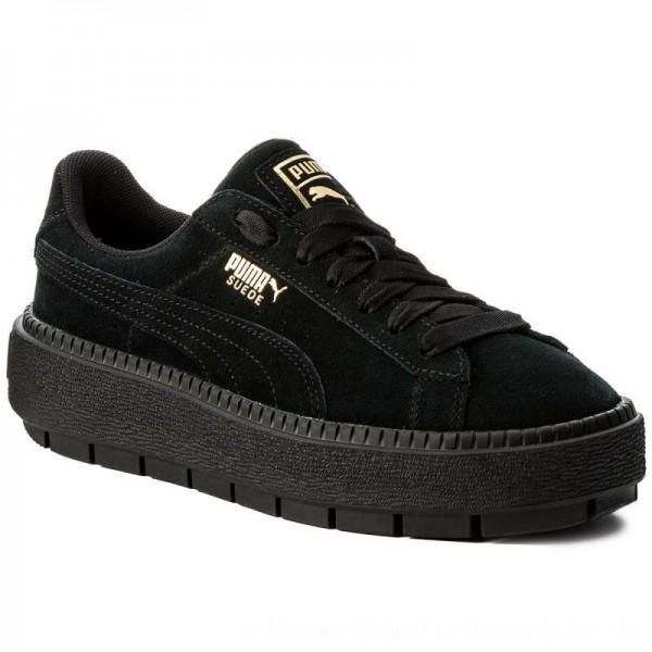 Puma Sneakers Platform Trace 365830 01 Black/Puma Black [Outlet]