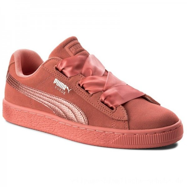 Puma Sneakers Suede Heart SNK Jr 364918 05 Shell Pink/Shell Pink [Sale]