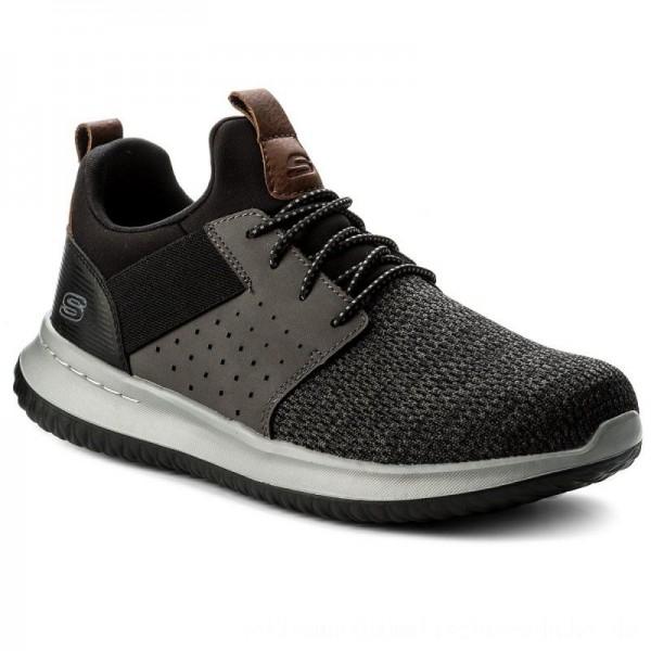 Skechers Schuhe Camben 65474/BKGY Black/Gray